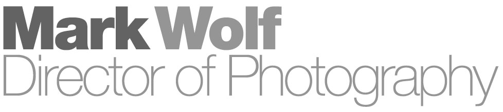Mark Wolf Director of Photograohy Logo